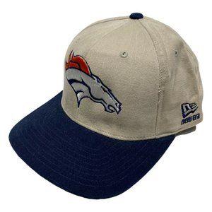 Vintage 90s Denver Broncos New Era NFL Hat